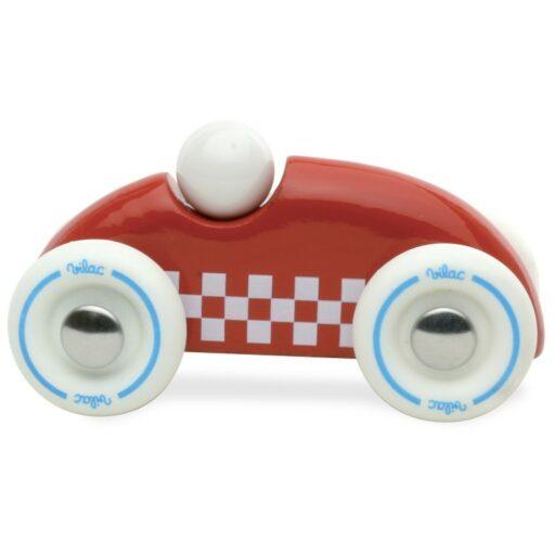 Vilac Dřevěné auto mini rallye červené