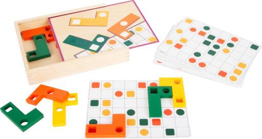 Small Foot Logická hra Tetris