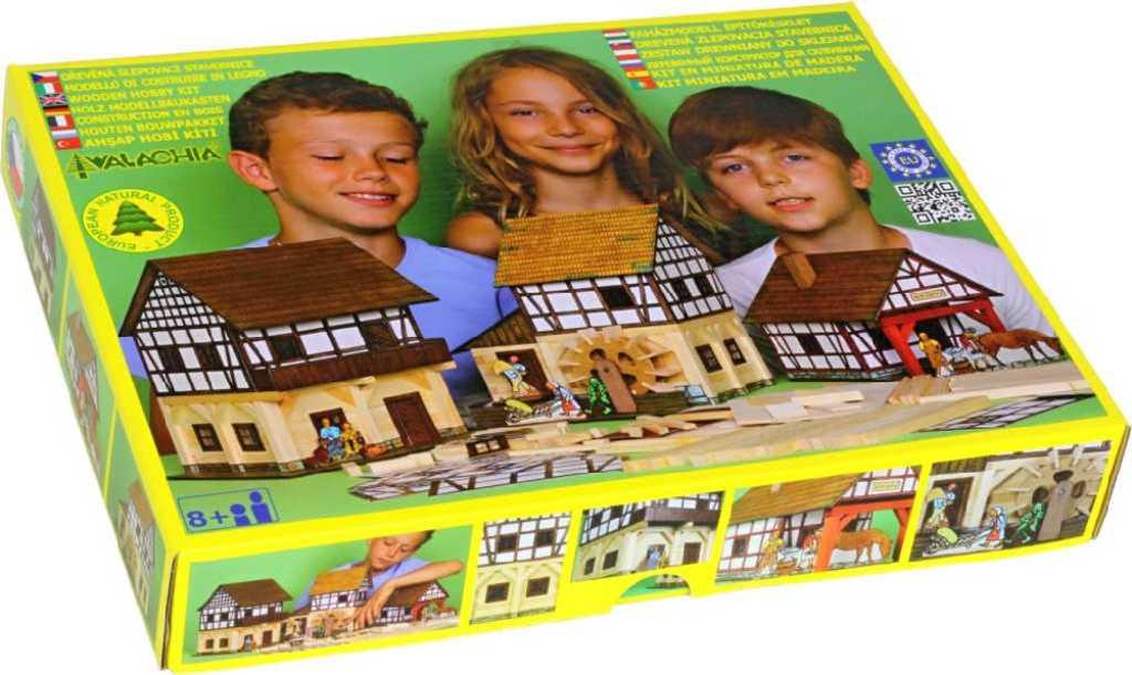 WALACHIA Hrázděný špýchar 33W37 dřevěná stavebnice