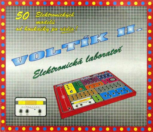 SVOBODA VOLTÍK II - elektronická stavebnice č.2