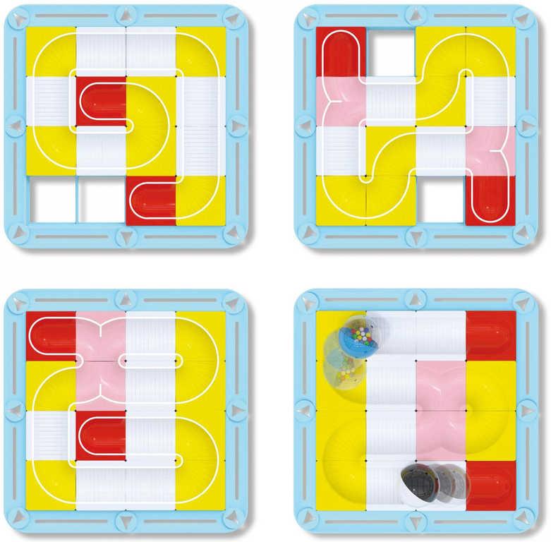 QUERCETTI Laby labyrintová dráha modulární bloky v krabici