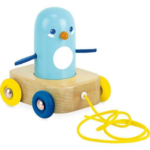 Vilac Tahací hračka a chrastítko tučňák