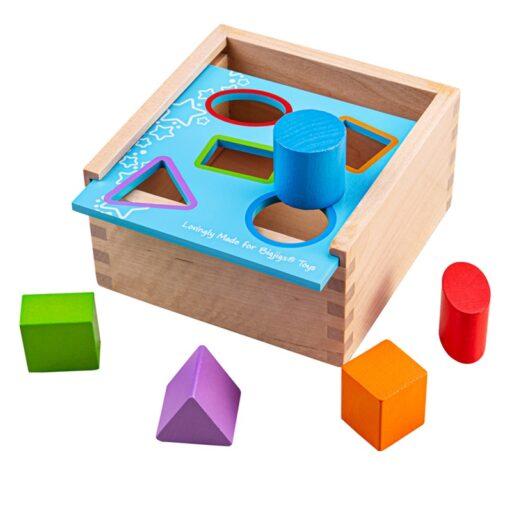 Bigjigs Toys Vkládací krabička s tvary