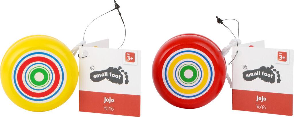 Small Foot Displej dřevěné JOJO spirála 8 ks