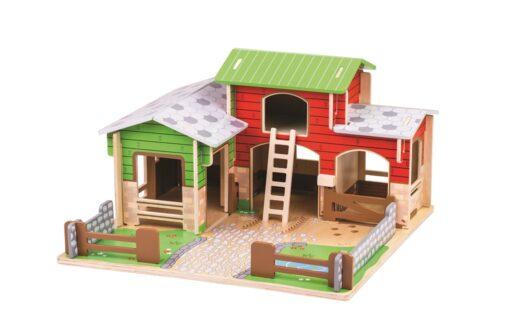 Bigjigs Toys Farma Cobblestone