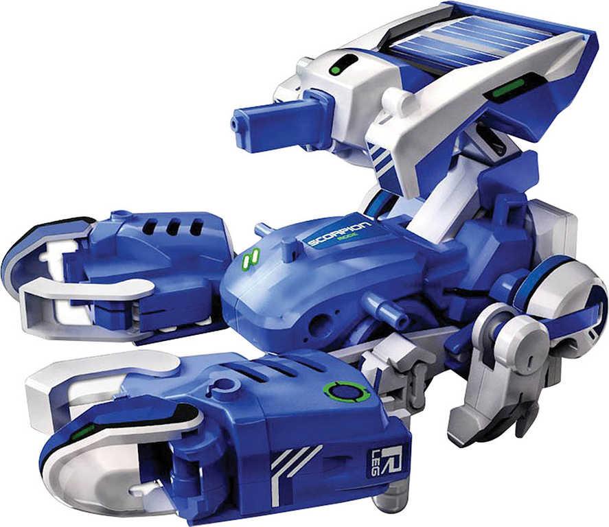 Sestavitelný robot T3 solární pohon ekologická hračka elektronická stavebnice 3v1