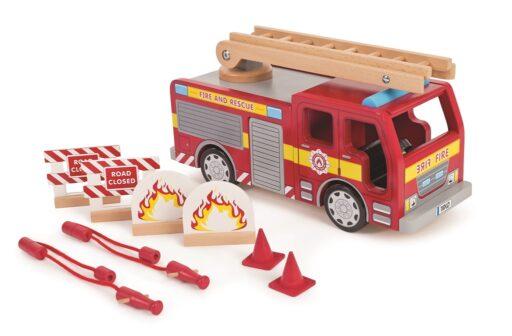 Tidlo Dřevěný požářní vůz
