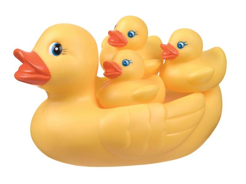 Playgro - Kachní rodinka do vany