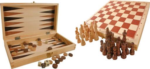 Small Foot Tradiční hry v dřevěné krabičce