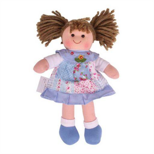 Bigjigs Toys Látková panenka Sarah 28 cm