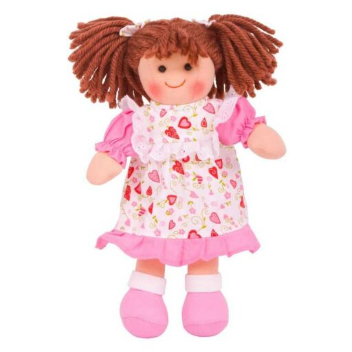 Bigjigs ToysLlátková panenka Amy 28 cm