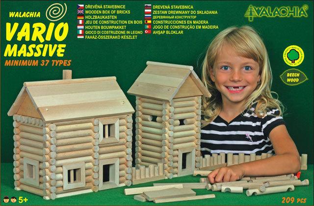 WALACHIA Vario Massive 33W25 dřevěná stavebnice
