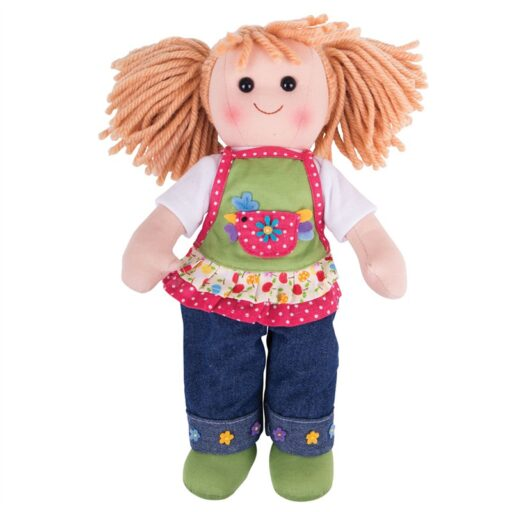 Bigjigs Toys Látková panenka Sophia 38 cm