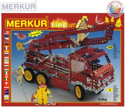 MERKUR 113 Fire set * KOVOVÁ STAVEBNICE *