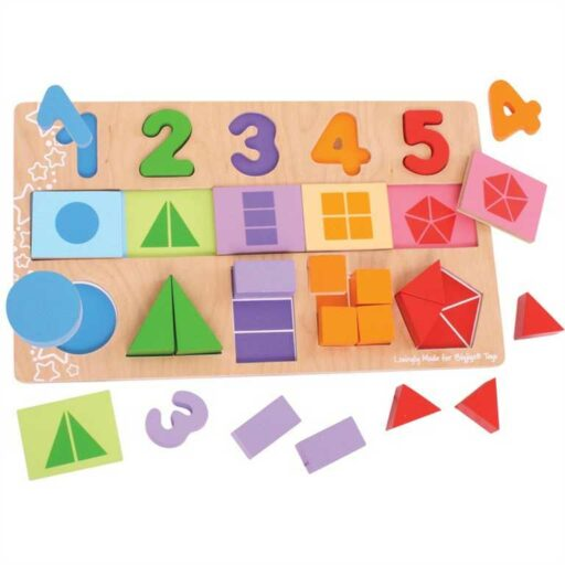 Bigjigs Toys Didaktická deska Čísla