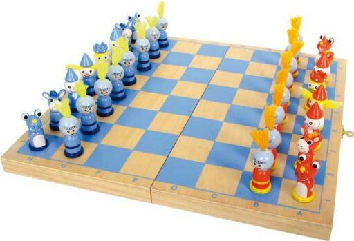 Small Foot Dřevěné hry šachy rytíř