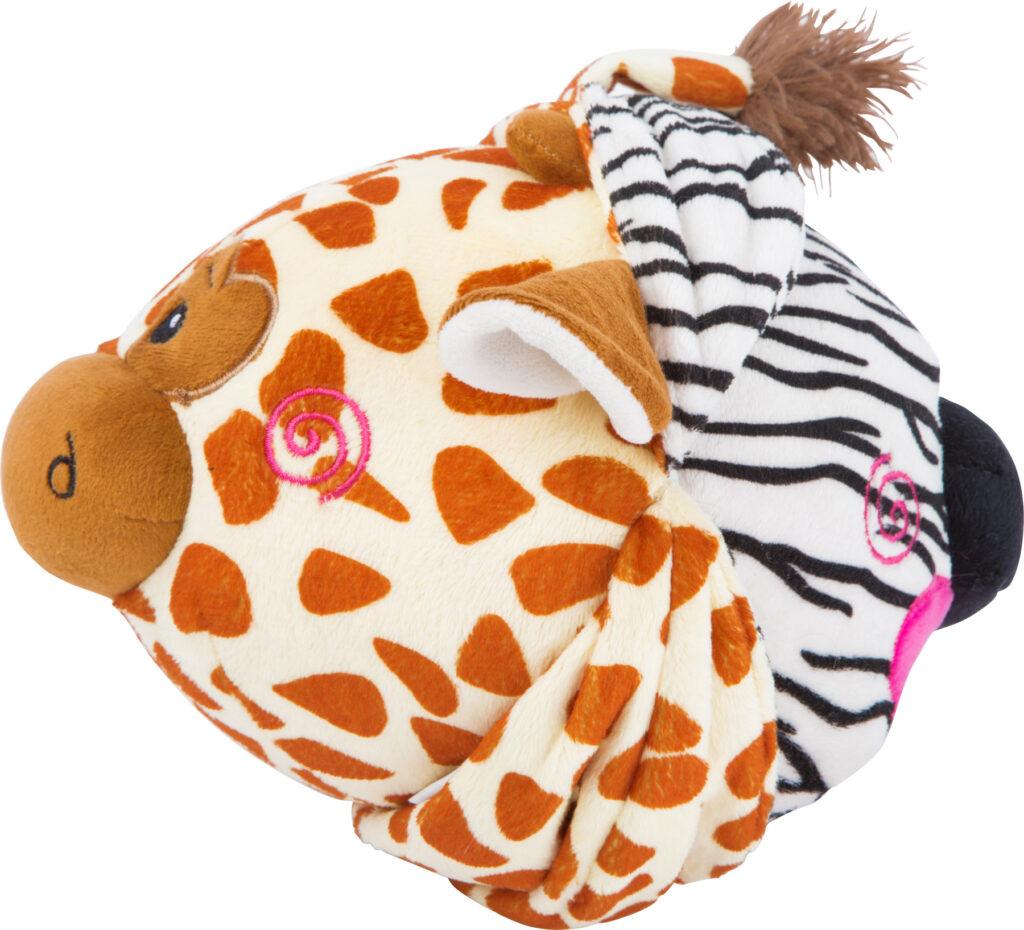 Small Foot Látkový balónek zebra a žirafa