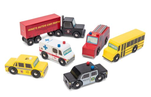 Le Toy Van Set autíček New York