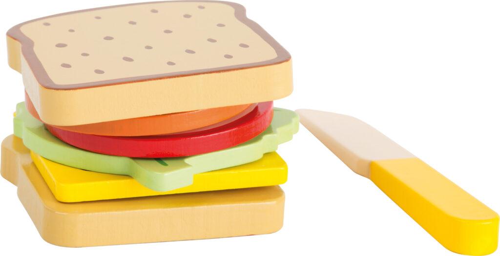 Small Foot Dřevěný sendvič