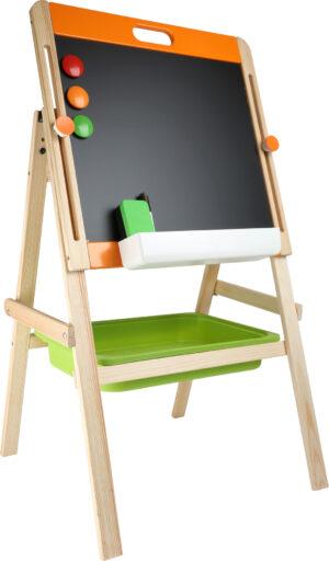 Small Foot Kompaktní dětská tabule na křídu i magnet