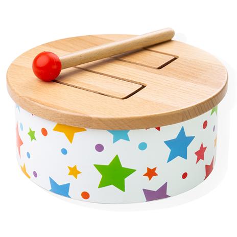 Bigjigs Toys Dřevěný bubínek star