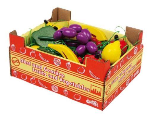 Small Foot Kuchyně krabice s ovocem
