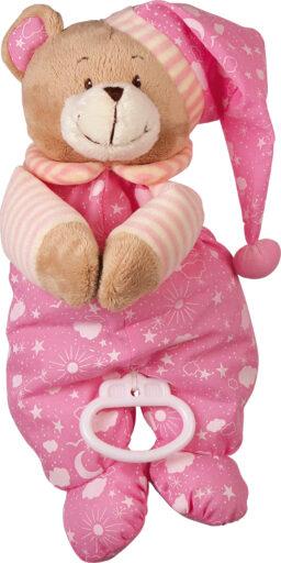 Small Foot Hrací medvídek růžový