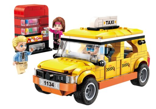 Qman Colorful City 1134 Taxi
