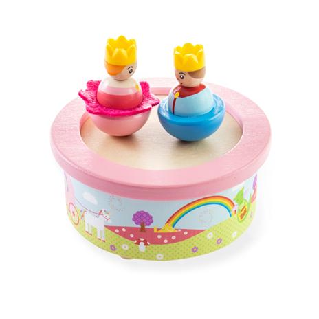 Bigjigs Toys Dřevěná hrací skříňka fantasy
