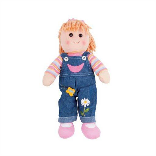 Bigjigs Toys Látková panenka Penny 38 cm