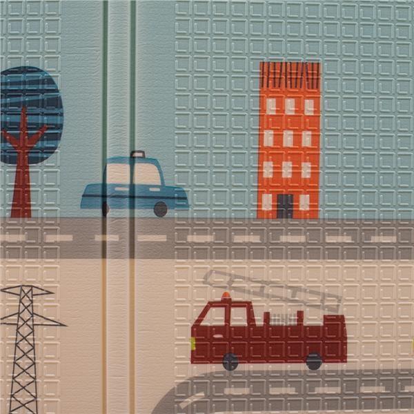 Multifunkční skládací hrací podložka PlayTo Město - dle obrázku