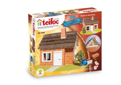 TEIFOC Domek Carlos 4300 *Stavebnice cihly s maltou*
