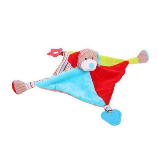 Bigjigs Baby Textilní hračka pejsek Bruno s kousátky