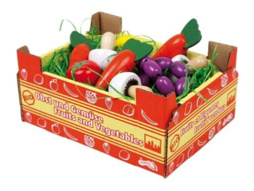 Small Foot Kuchyně krabice se zeleninou