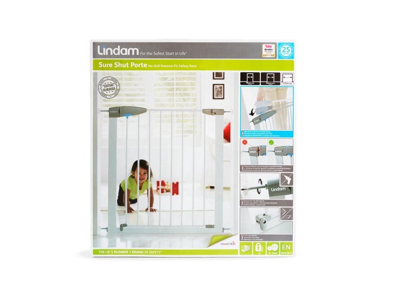Lindam - Dětská zábrana Sure Shut Porte