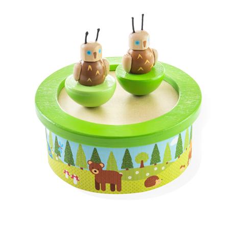 Bigjigs Toys Dřevěná hrací skříňka woodland