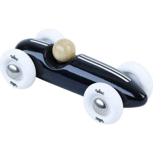 Vilac Dřevěné auto mini Grand prix vintage černé