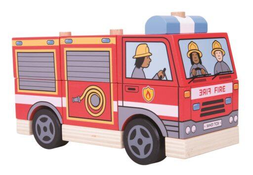 Bigjigs Baby Nasazování hasiči