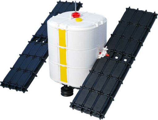 SEVA Vesmír Družice plastová STAVEBNICE 425 dílků