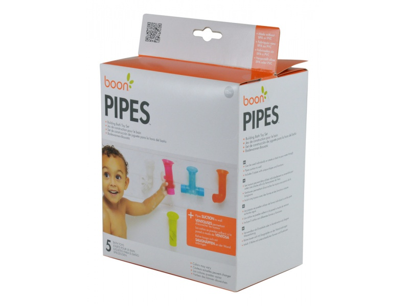 Boon - PIPES - Spojovací potrubí 5 ks