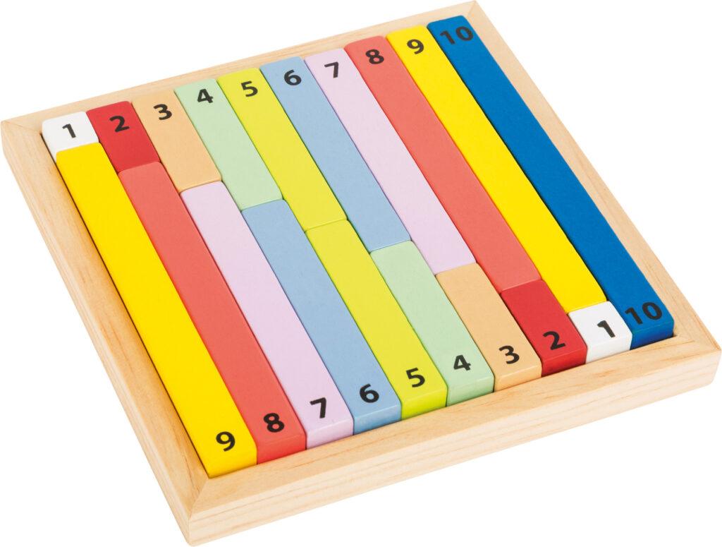 Small Foot Edukativní barevná tabulka