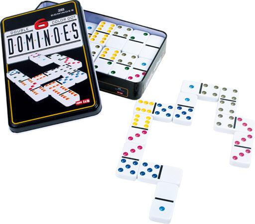 Small Foot Domino 6 barev