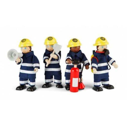 Tidlo Dřevěné postavičky hasičů