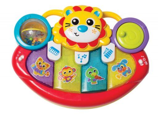 Playgro - Multfunkční hudební nástroj lvíček
