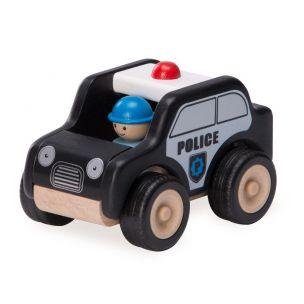 Wonderworld Dřevěné Mini hlídkové vozidlo