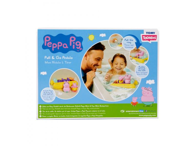 TOOMIES - Prasátko Peppa s tatínkem na šlapadle