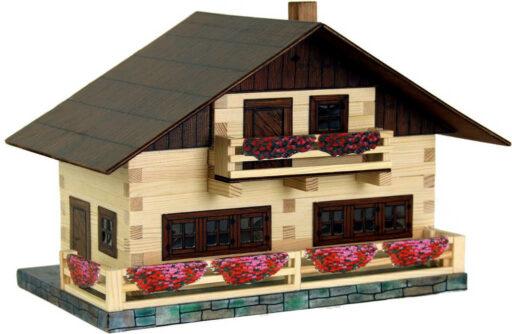 WALACHIA Alpský dům 33W43 DŘEVĚNÁ STAVEBNICE