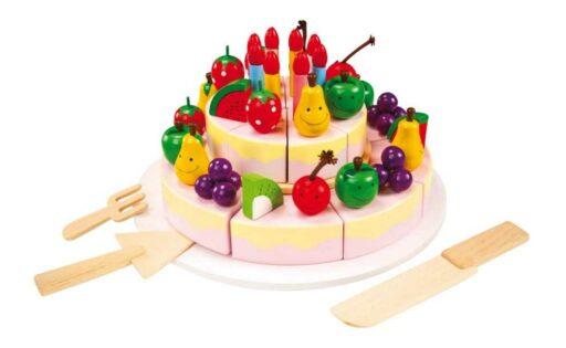 Small Foot Velký narozeninový dort