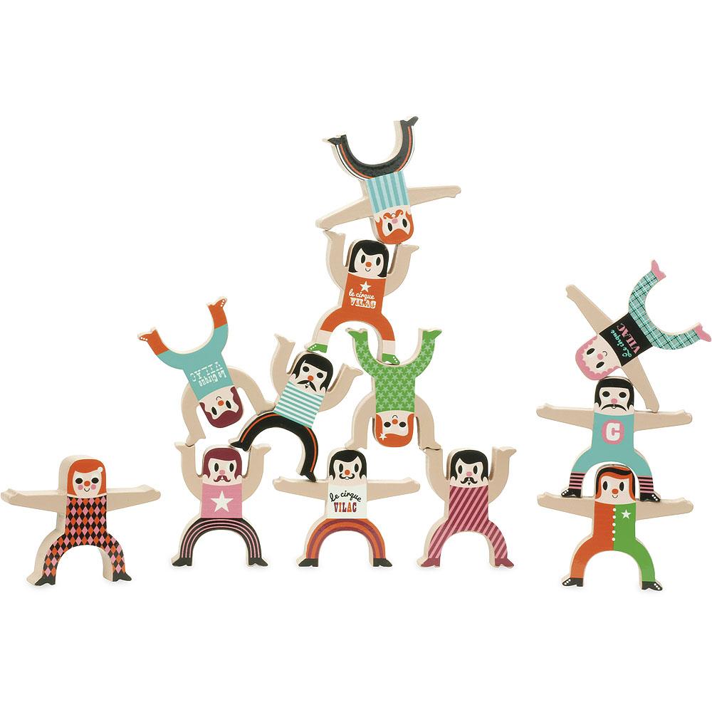 Vilac Dřevěné postavičky akrobati