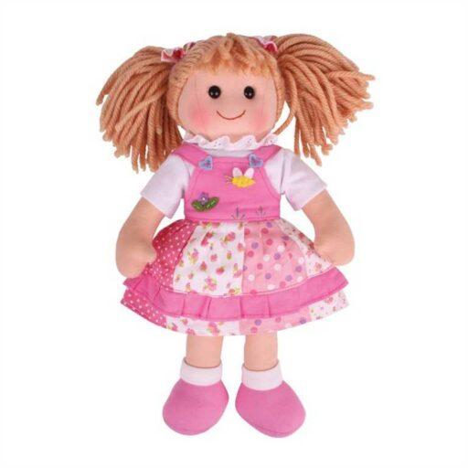 Bigjigs Toys Látková panenka Hayley 34 cm